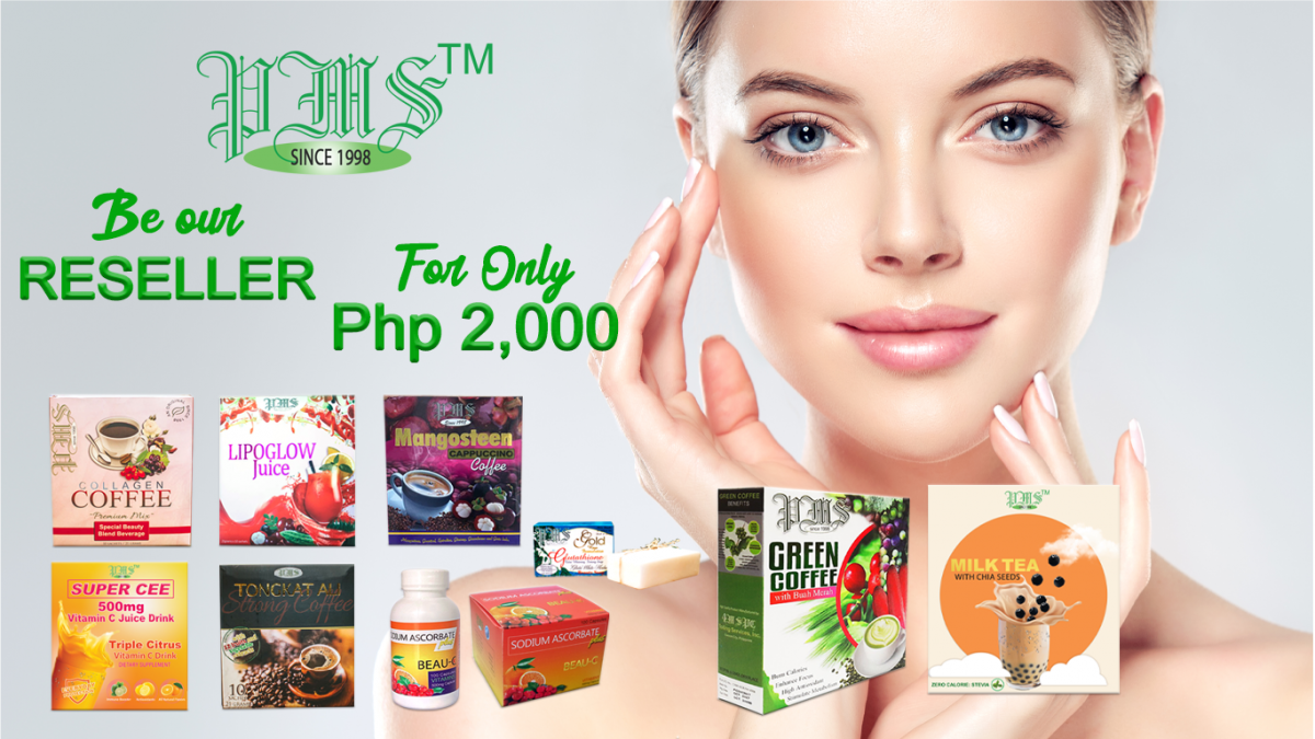Be our Reseller for only Php 2000
